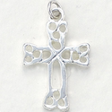 Sterling Silver Irish Knot Cross