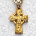 14K Gold Filled Celtic Cross