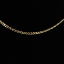 "14K Gold Curb Neck Chain(24"" Length)"