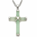 Sterling Silver Colored Crosses