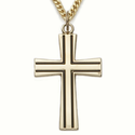 14K Gold over Sterling Silver Crosses