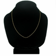 "14K Gold Rope Neck Chain (18"" Length)"