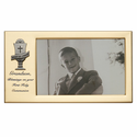 "8"" x 4 1/2"" Grandson's First Holy Communion Metal Photo Frame with Chalice"