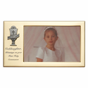 "8"" x 4 1/2"" Granddaughter's First Holy Communion Metal Photo Frame with Chalice"