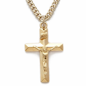 14K Gold Filled Crucifix Necklaces