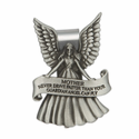 Mother Guardian Angel Pewter Visor Clip