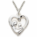 Mother's Day Heart Jewelry
