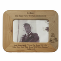 "8"" x 6""  Godson Laser Engraved Maple Wood Photo Frame"