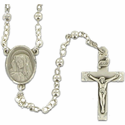 Sterling Silver Rosary Beads