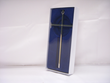 "8"" Silver Plated Wall Cross"