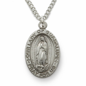 Our Lady of Guadalupe, Pray for Us, Sterling Silver Engraved Medal