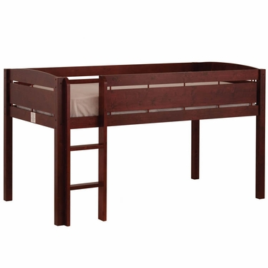 Whistler Junior Twin Loft Bed Cherry 2131 4 By Canwood Bunk Loft Beds At Simplykidsfurniture