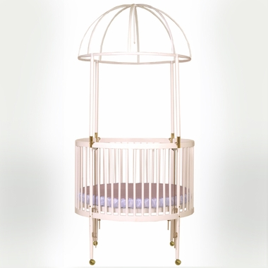 Millennium Wood Round Crib 92 1 By Little Miss Liberty