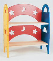 MOON & STARS - STACKING BOOKSHELF (SET OF 2)   G98043 by Guidecraft