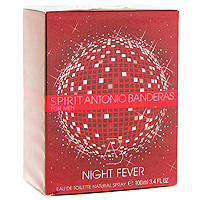 Spirit Night Fever by Antonio Banderas, 3.4 oz Eau De toilette Spray for Men