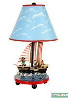 Pirate Table Lamp   G83707 by Guidecraft