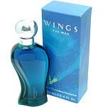 Wings by Wings, for men, 3.3 oz After Shave for men.
