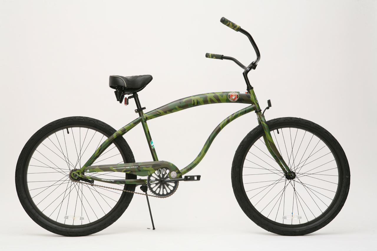 Click to see bc 107m beach cruiser marine corps camouflage