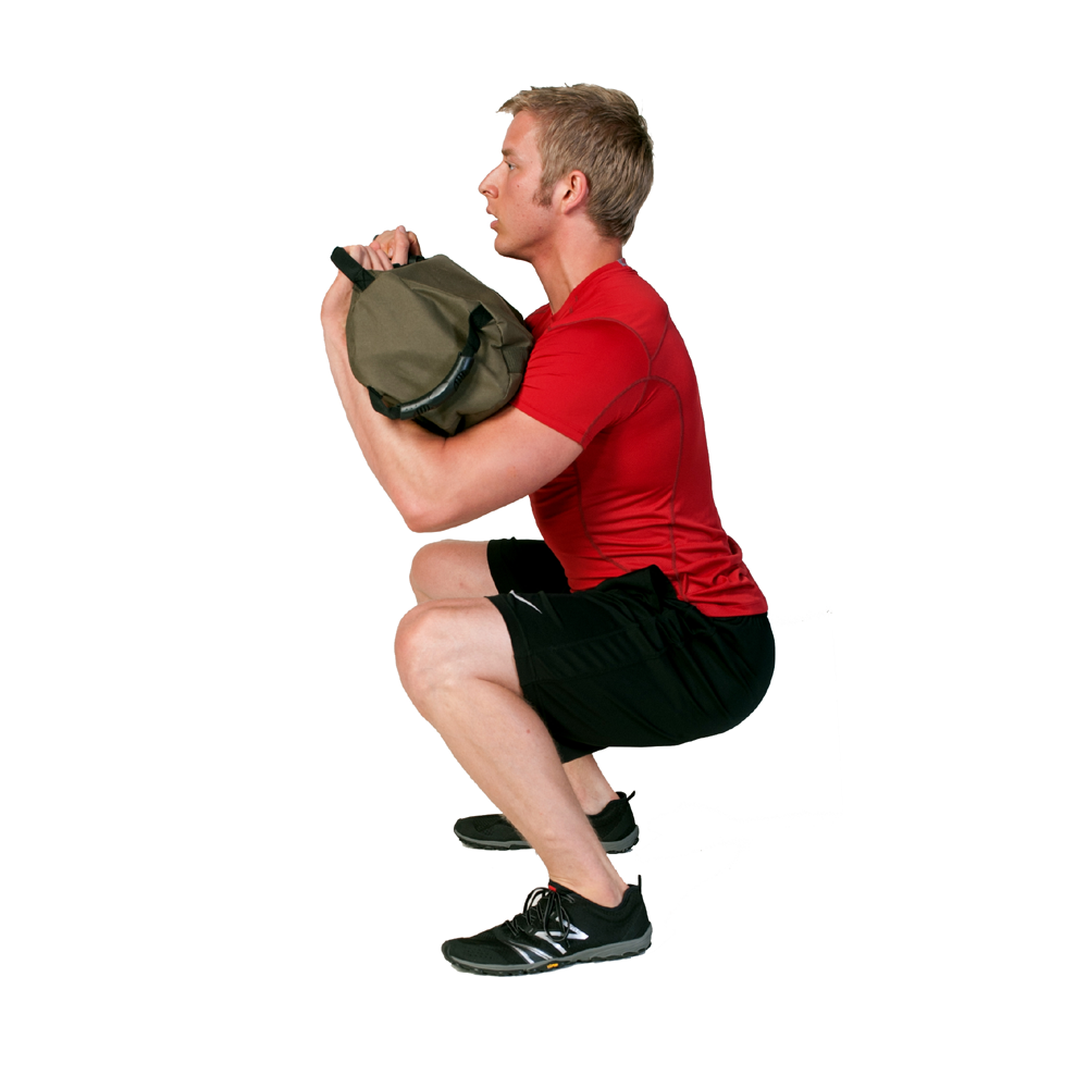Sandbag Exercise Guide Front Squat