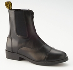 Saxon Equileather Zip Paddock Boots for Kids & Adults
