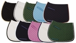 TuffRider Basic AP Saddle Pad with  Trim and Piping