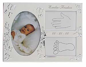 Personalized Engraved Baby Frame