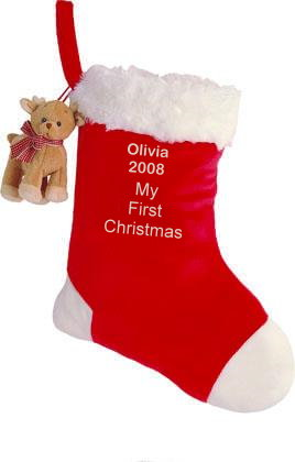 My First Christmas Stocking - Baby Gund