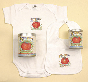 Electric Tomato Baby Bodysuit
