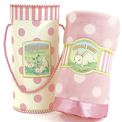 Snuggle Bunny Baby Blanket - Pink