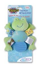 Taggies Frog Teether