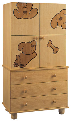 Wood Baby Furniture - Armorie - Dog