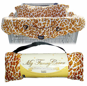 MyFancyCover Faux Fur Shopping Cart Cover