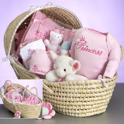 Moses Basket Deluxe (Princess)
