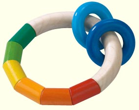 HABA Kringelring - Wooden Teething Ring