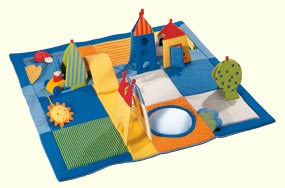 Baby Playing Rug - Dwarf's Land by HABA