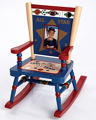 All-Star Sports Mini Rocking Chair