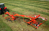 Kuhn Rotary Rakes, Wheel Rakes, and Mergers