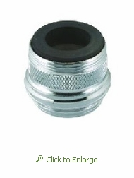 Dual Thread Sink Faucet to 3/4 in. Garden Hose Adapter