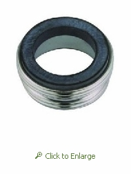Male Faucet Adapter 15/16 - 27 x 55/64 - 27