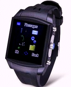 """Shock"" Waterproof Wristwatch Cell Phone"