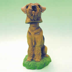 Airedale Terrier Bobblehead Dog by Swibco