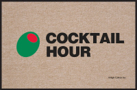 Cocktail Hour Olive Doormat