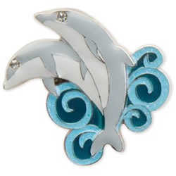 Dolphin Dance Key Finder from Finders Key Purse Collection