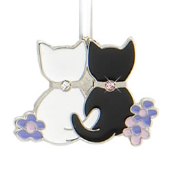 Finders Key Purse Two Kitties Key Finder
