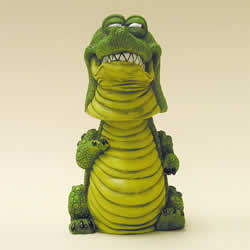 Alligator Bobblehead Animal by Swibco 3""