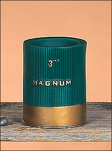 Can Cooler - Green Shotshell