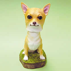 Chihuahua Bobblehead Dog by Swibco
