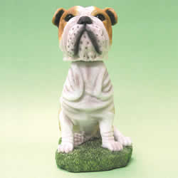 Bulldog Bobblehead Dog by Swibco