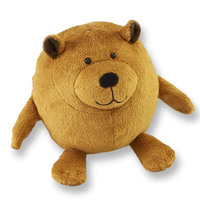 Brown Bear Lubies Plush Stuffed Animal