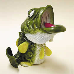 Bass Fish Bobblehead by Swibco